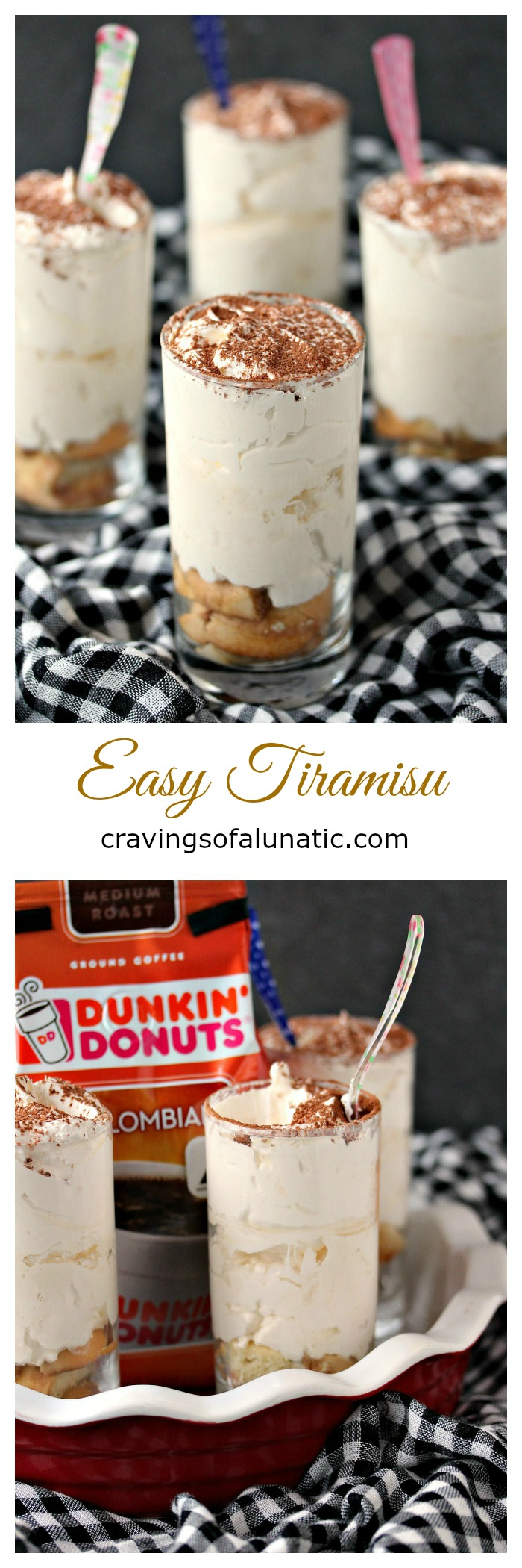 Easy Tiramisu from cravingsofalunatic.com- Nothing beats a fabulous dessert after a great meal. This Easy Tiramisu is full of flavour and very simple and quick to make. (@CravingsLunatic)