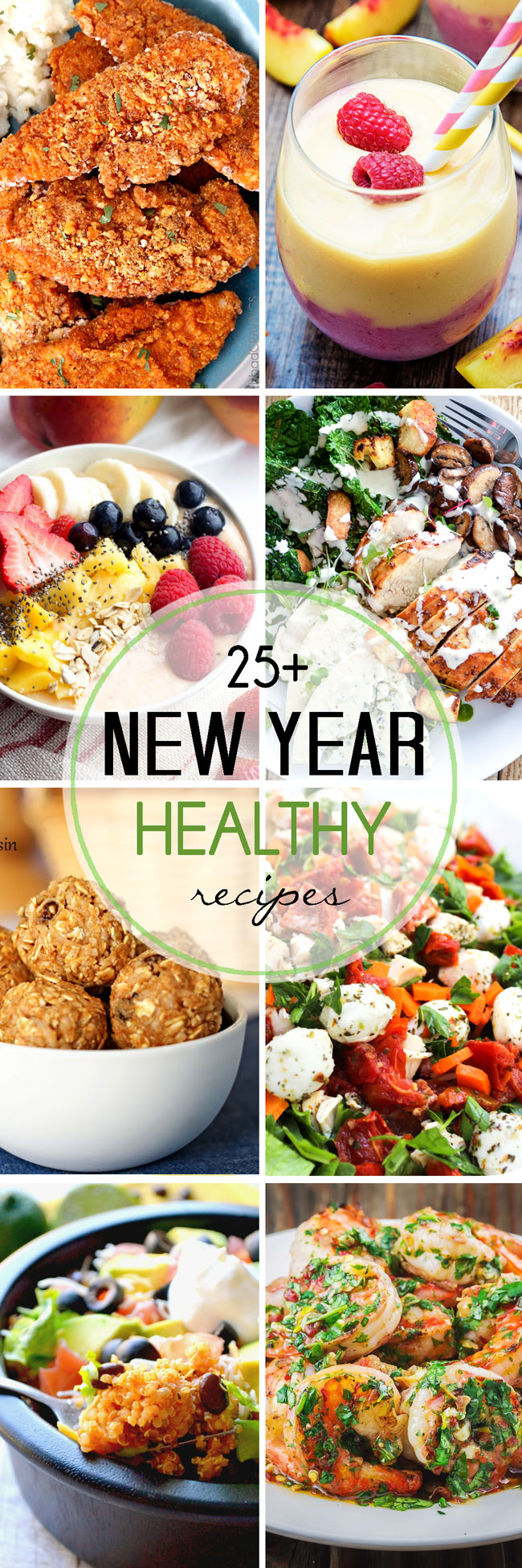 Over 25 recipes that are perfect for the new year. Healthy choices made easy, from all your favourite food bloggers.
