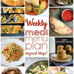 Weekly Meal Plan: Week 21