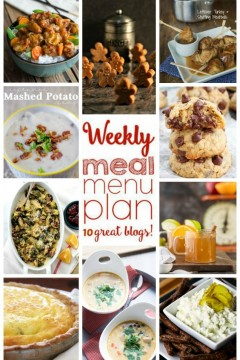 Weekly Meal Plan: Week 23