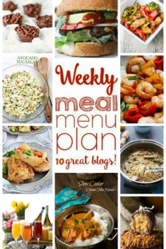 Weekly Meal Plan: Week 24