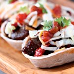 Steak Bites Mini Taco Boats