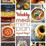 Weekly Meal Plan: Week 29