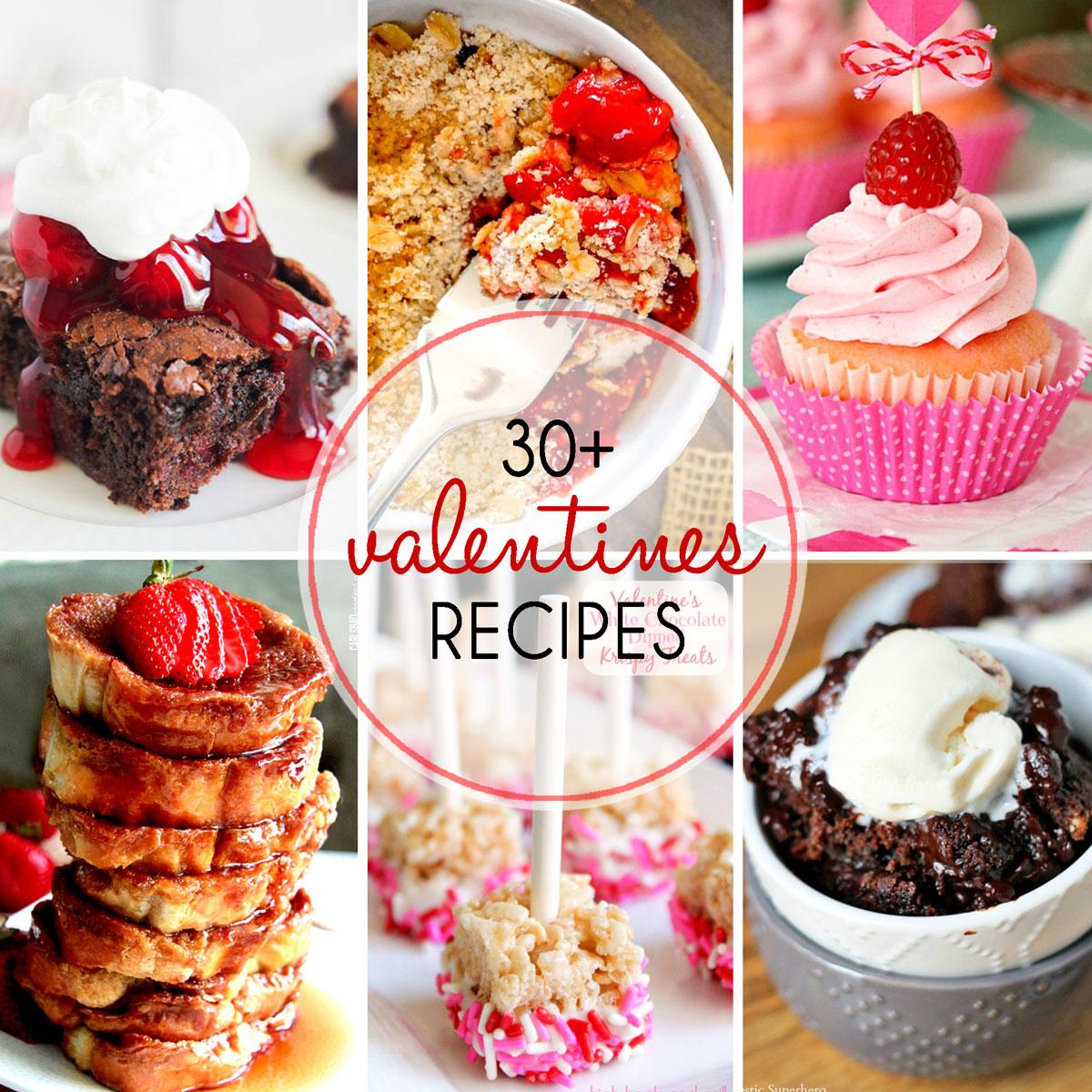 30 Sweet Valentine S Day Recipes