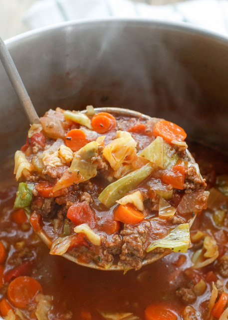 Hearty Italian Vegetable Beef Soup – Barefeet in the Kitchen