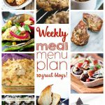 Weekly Meal Plan: Week 30