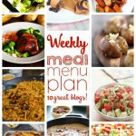 Weekly Meal Plan: Week 31