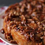 Overnight Apple Pecan Caramel Sticky Buns