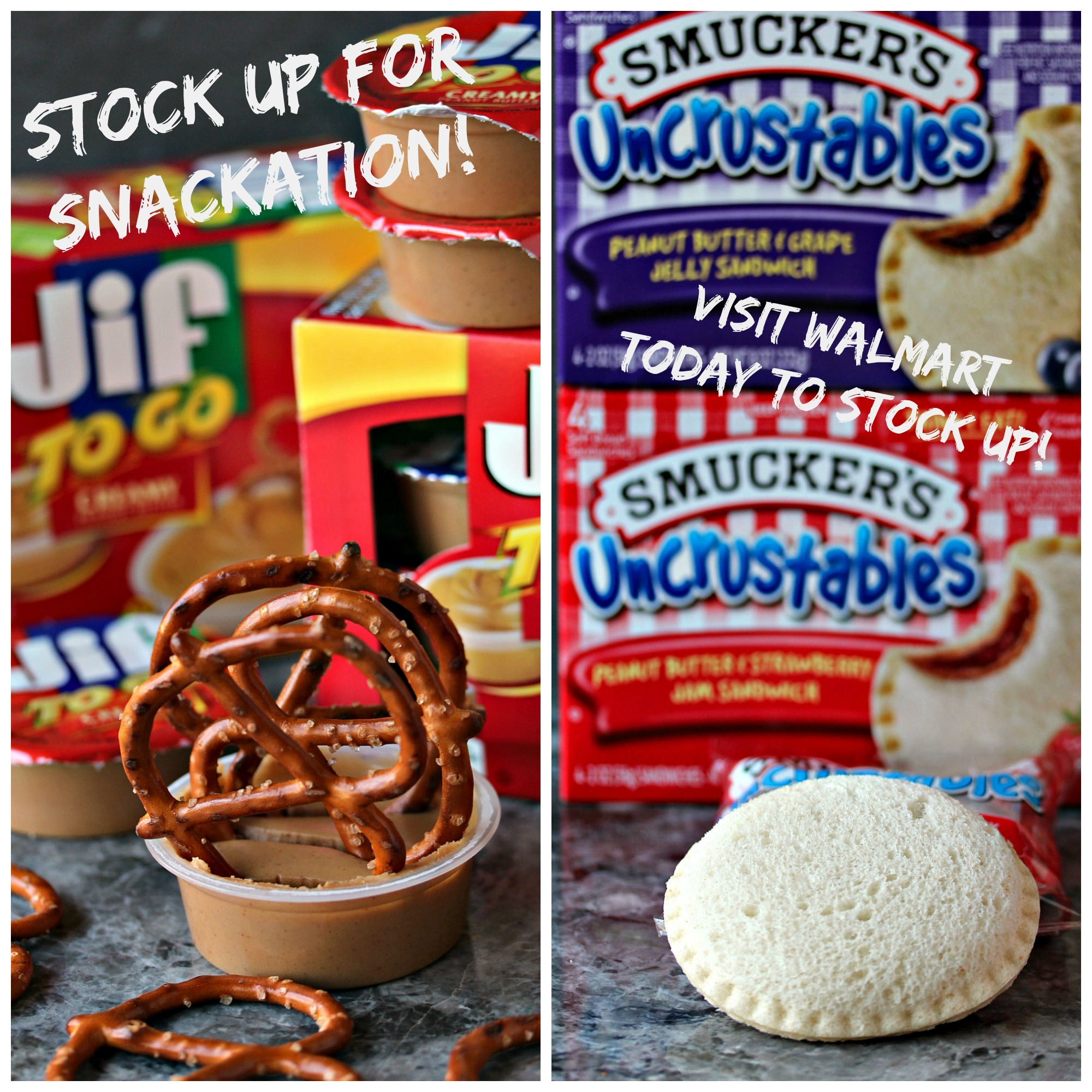 Celebrate Snackation during March Break this year. I've partnered with The J.M. Smucker Company and Walmart to bring you fun ideas and snack suggestions for March Break. Otherwise known as #Snackation. Swing by cravingsofalunatic.com for snack ideas. (@CravingsLunatic)
