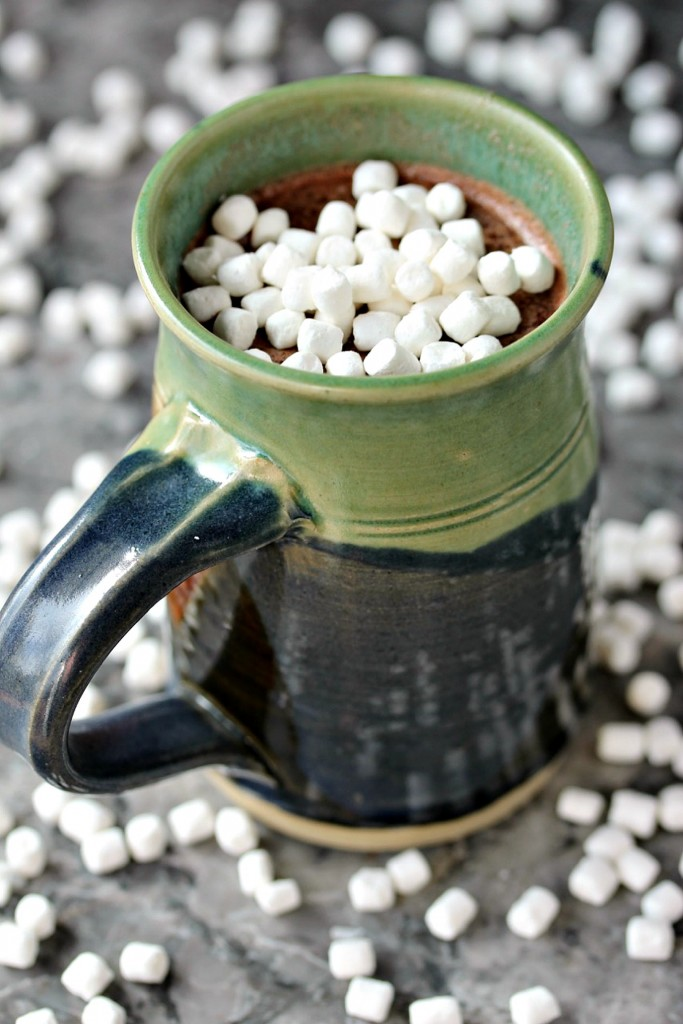 Nutella Hot Chocolate from cravingsofalunatic.com- This hot chocolate recipe is a real crowd pleaser. Whip up a batch on a cold day and curl up by the fireplace with a good book. Sip your way to your happy place! (@CravingsLunatic)