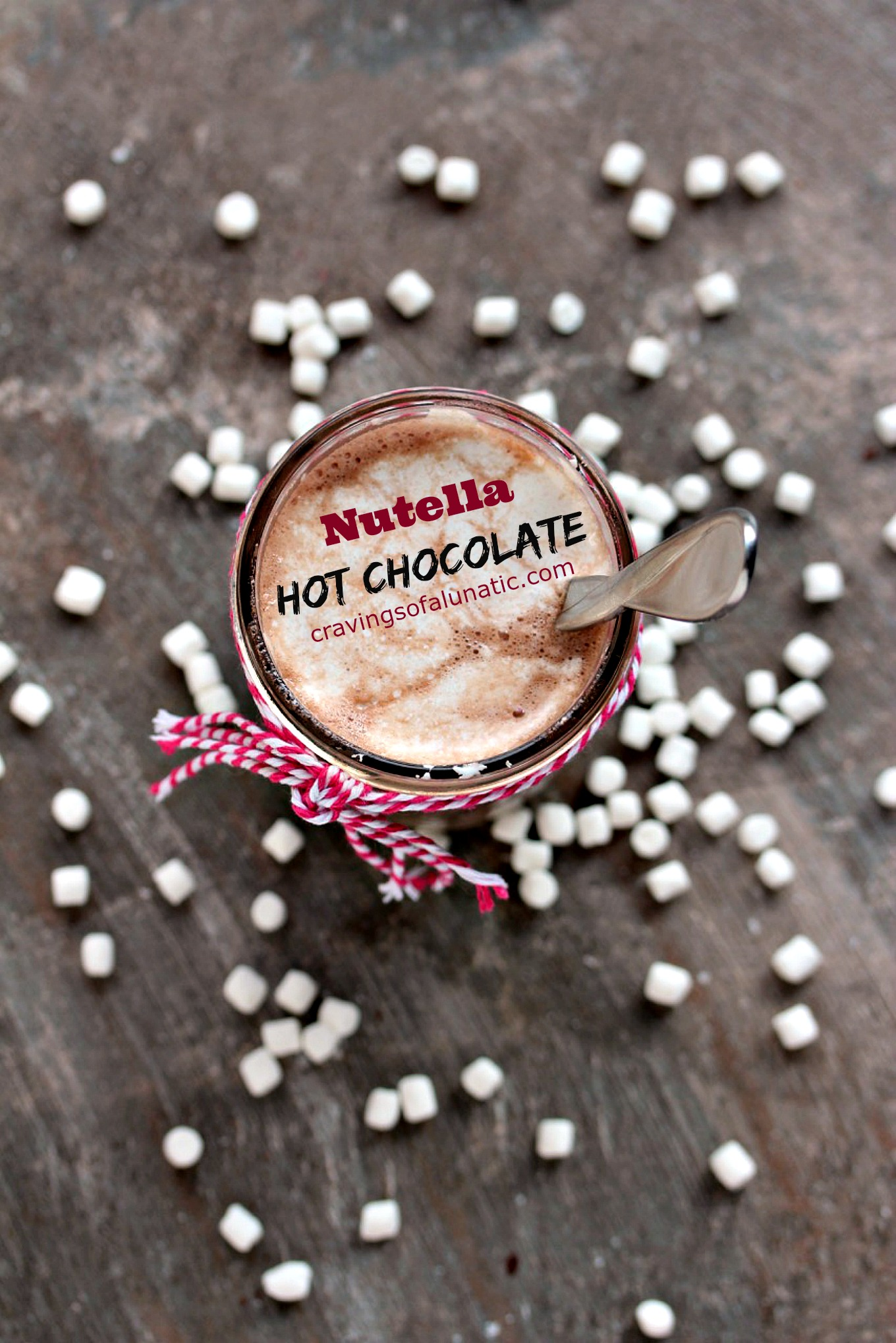 Nutella Hot Chocolate | Cravings of a Lunatic