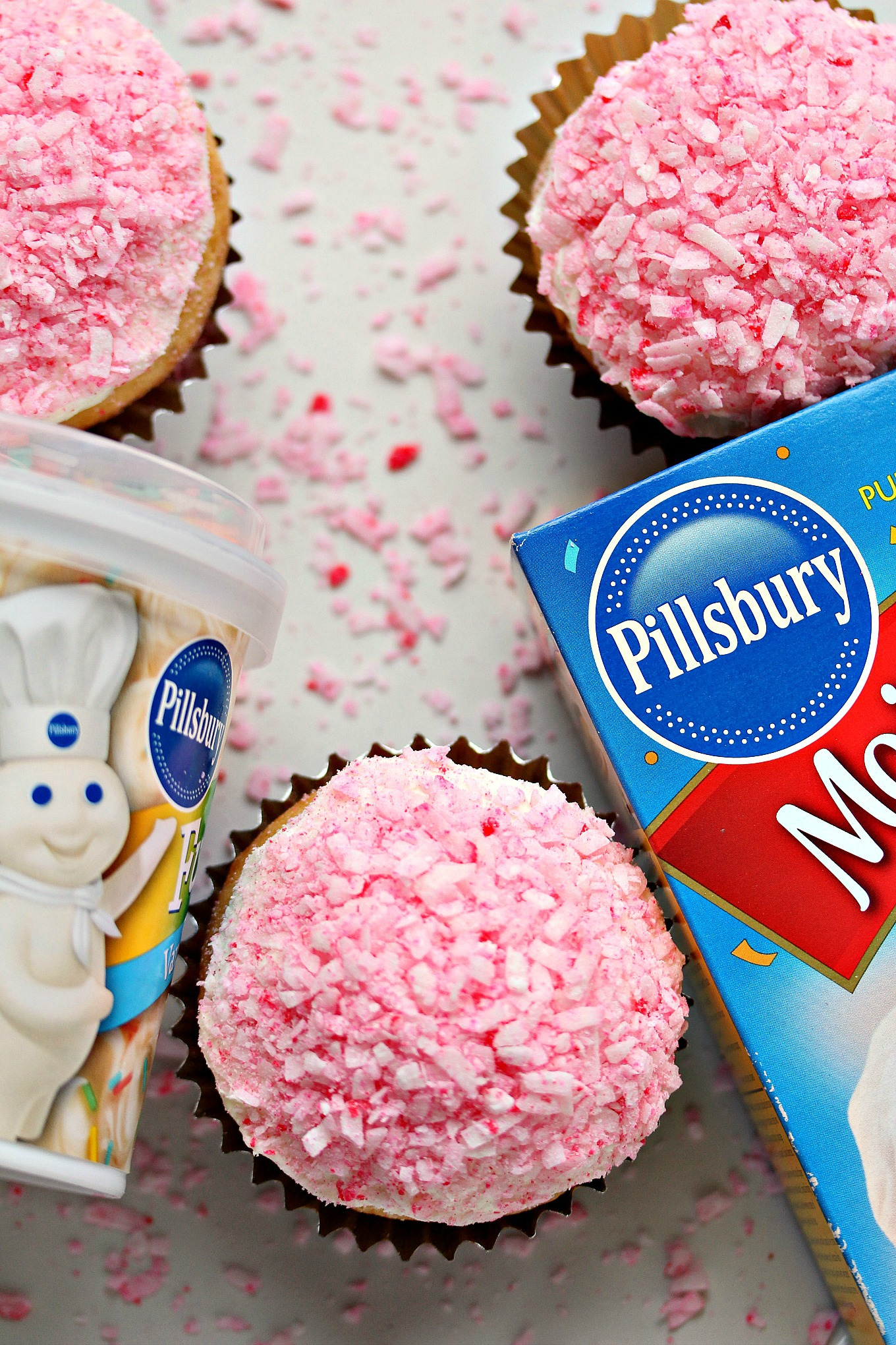 Pink Coconut Cupcakes From Cravingsofalunatic Made With Pillsbury Cake Mix