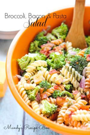 Broccoli Bacon Pasta Salad – Mandy's Recipe Box