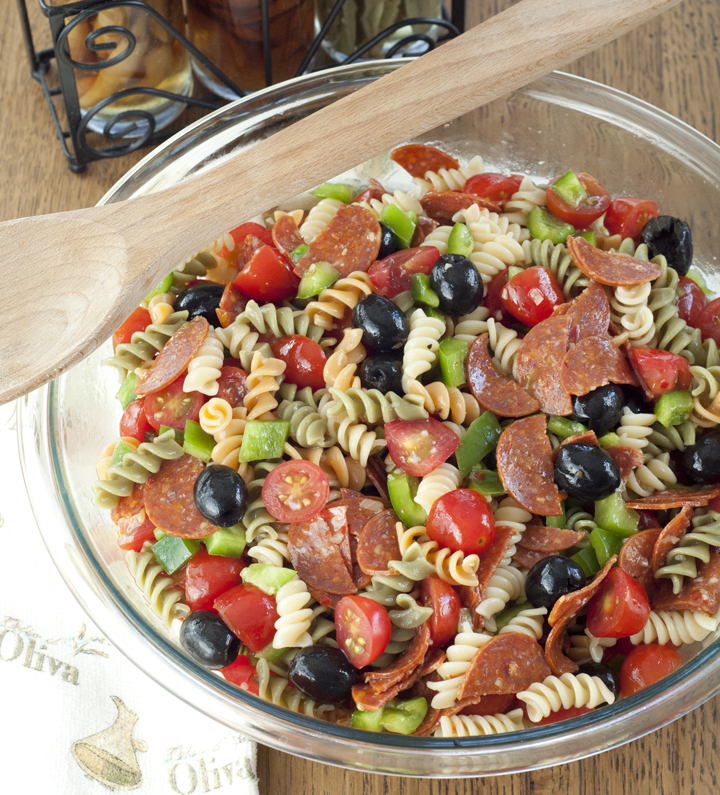 Classic Italian Pasta Salad – Wishes and Dishes