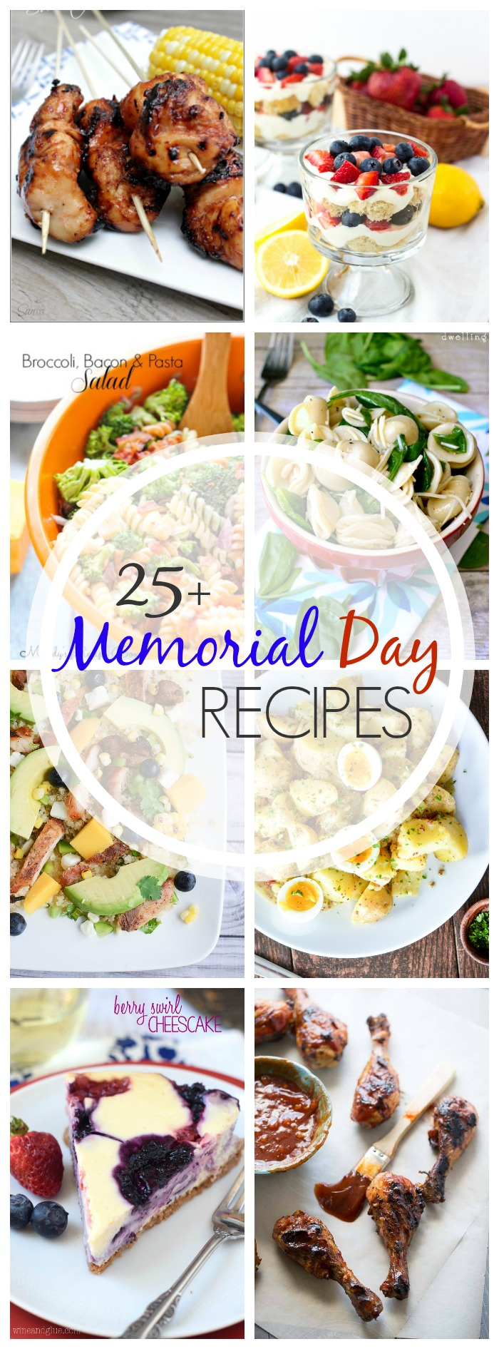 25 + Memorial Day Recipes that are perfect for your holiday weekend!