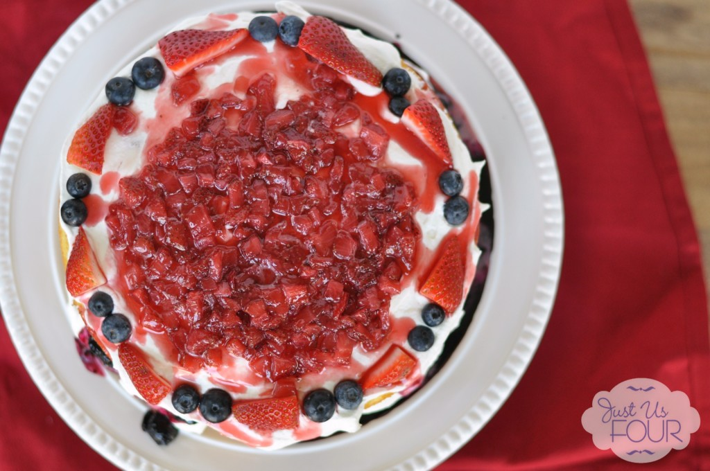 Red, White, and Blueberry Cheesecake – My Suburban Kitchen