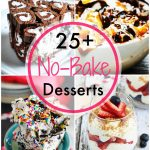 No Bake Desserts collage image