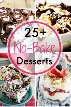 No Bake Dessert Round Up