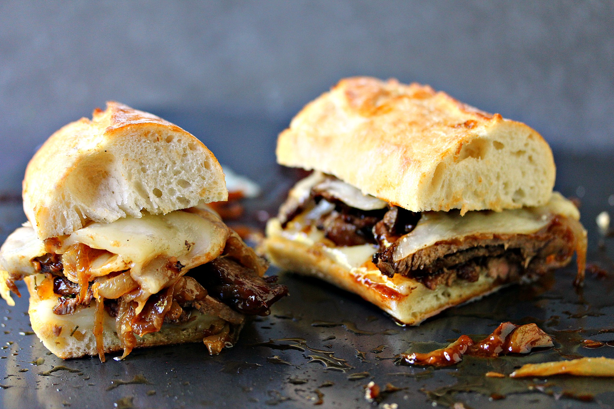 Steak Sandwiches with Caramelized Onions and Provolone ...
