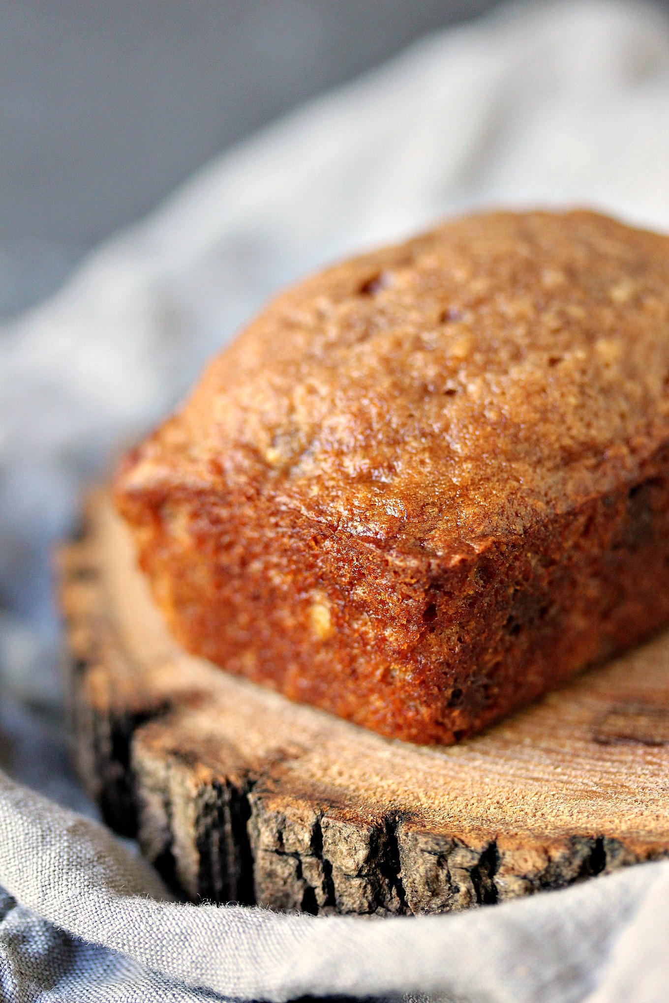 Peanut Butter Chocolate Banana Bread with Walnuts   Cravings of a ...