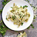 Brown Butter Garlic Parmesan Pasta