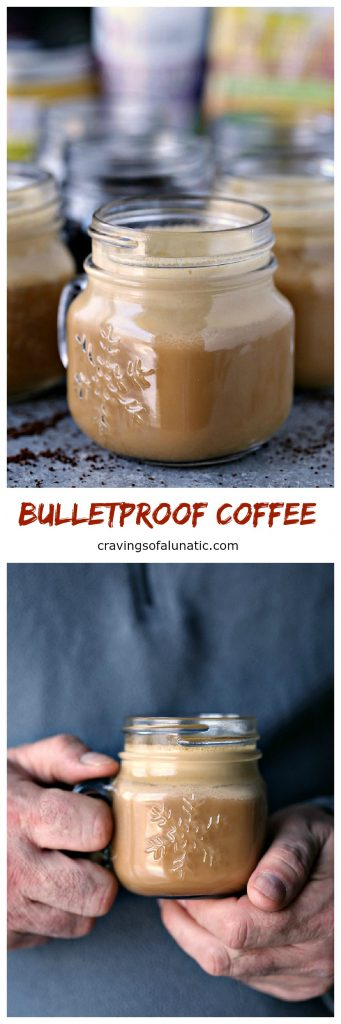 Bulletproof Coffee from cravingsofalunatic.com- How to make the best Bulletproof Coffee around!