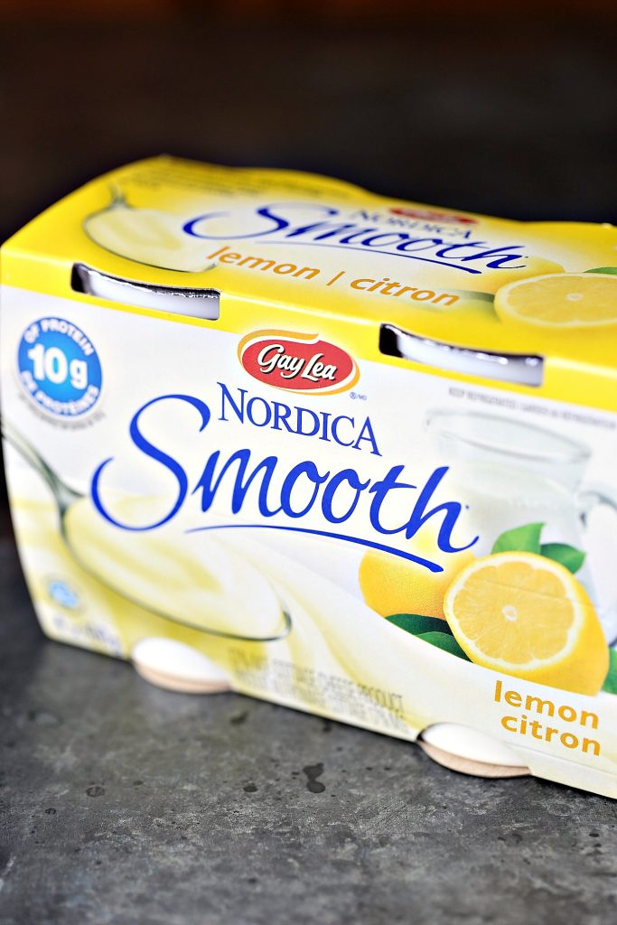 Nordica Smooth Cottage Cheese in Lemon