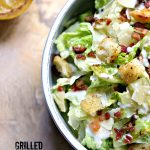 Grilled Caesar Salad with Red Baron Pizza