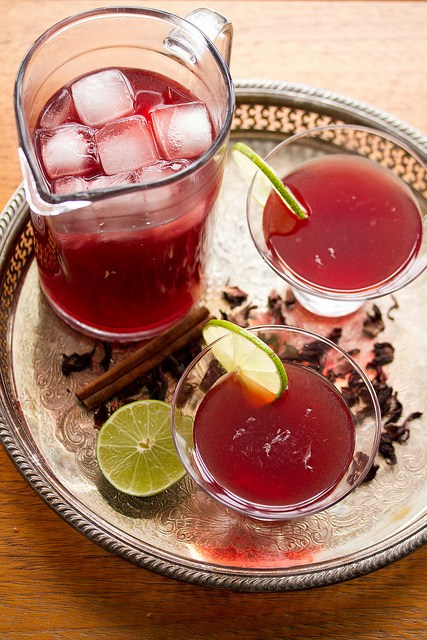 Hibiscus Margaritas from Crumb- featured on cravingsofalunatic.com. Kick off the summer season with The Best Margarita Recipes on the block. Sit back, relax, and sip one of these gorgeous margaritas. Or make them all so you can pick your favourite.