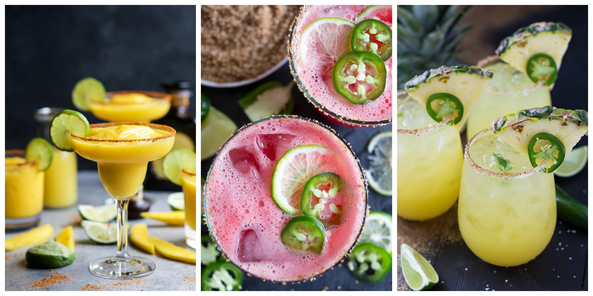 The Best Margarita Recipes on cravingsofalunatic.com- Kick off the summer season with The Best Margarita Recipes on the block. Sit back, relax, and sip one of these gorgeous margaritas. Or make them all so you can pick your favourite.