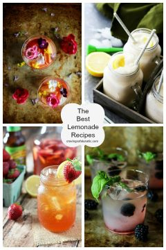 The Best Lemonade Recipes on cravingsofalunatic.com- Spend your summer sipping all The Best Lemonade Recipes you can get your hands on. Summer is all about refreshing beverages so make the most of it!