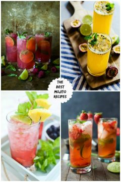 The Best Mojito Recipes on cravingsofalunatic.com- Kick off the summer season by making one of The Best Mojito Recipes on the web. These recipes are sure to be a hit with your family and friends.