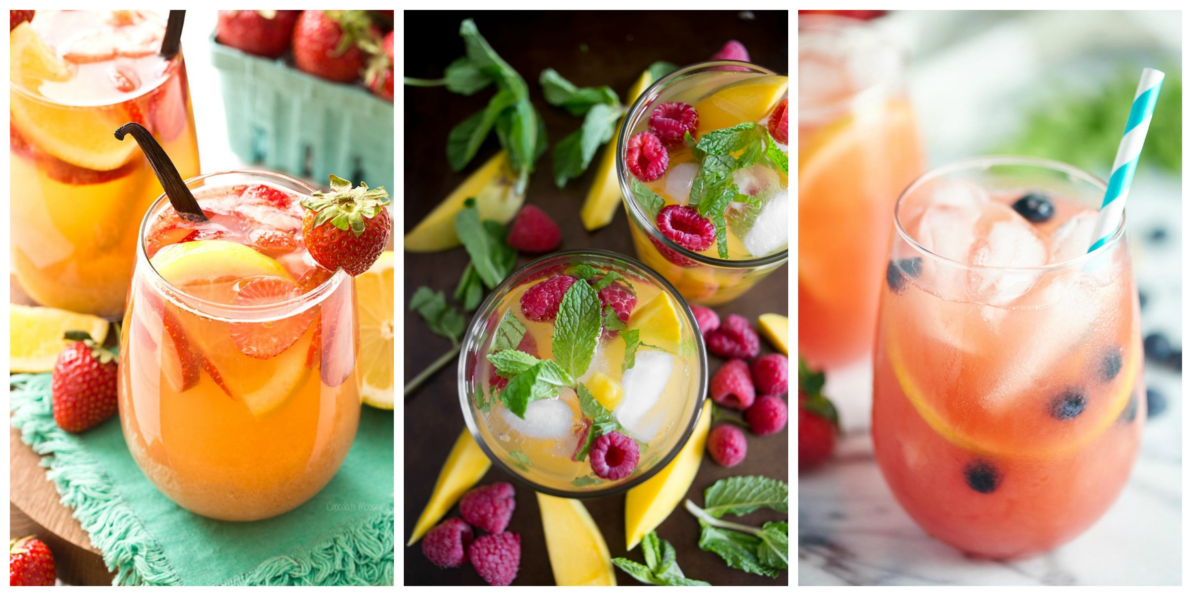 The Best Sangria Recipes from cravingsofalunatic.com- Celebrate summer in epic style with The Best Sangria Recipes! Sangria is so easy to make and super versatile. Whip up a batch today!