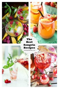 The Best Sangria Recipes from cravingsofalunatic.com- featured on The Best Sangria Recipes by cravingsofalunatic.com- Celebrate summer in epic style with The Best Sangria Recipes! Sangria is so easy to make and super versatile. Whip up a batch today!