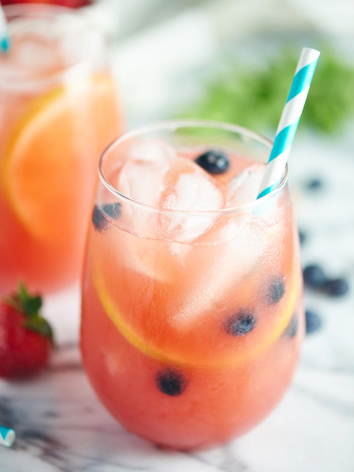 Watermelon Sangria from Show Me the Yummy- featured on The Best Sangria Recipes by cravingsofalunatic.com- Celebrate summer in epic style with The Best Sangria Recipes! Sangria is so easy to make and super versatile. Whip up a batch today!