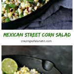 This Mexican Street Corn Salad is the perfect mix of sweet, salty, and spicy. It's all combined to make an amazing Esquites recipe that will satisfy your corn cravings.
