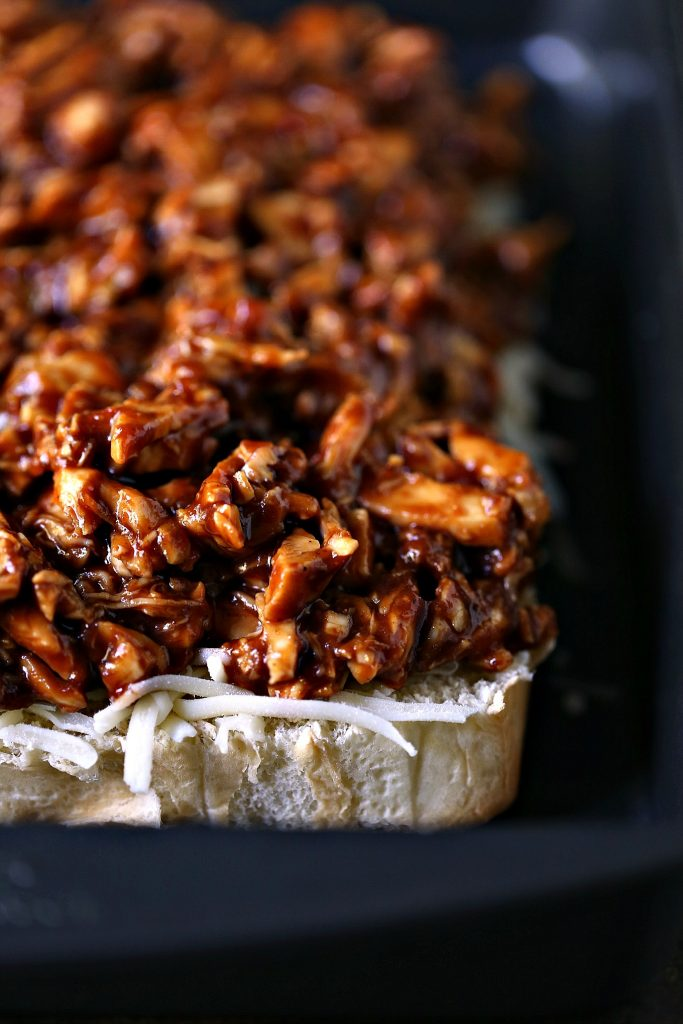 Spicy BBQ Chicken Fajita Sliders from cravingsofalunatic.com- Summer is the perfect time to enjoy a great sandwich. These little Spicy BBQ Chicken Fajita Sliders pack a flavor punch. Serve with Simply Lemonade at your next picnic or cookout.