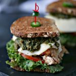 Grilled Chicken Sandwich with Basil Pesto