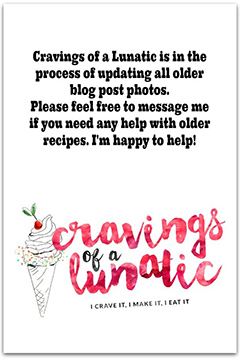 graphics image for cravings of a lunatic blog