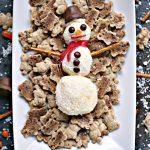 Mini Snowmen Sweet Cheese Balls